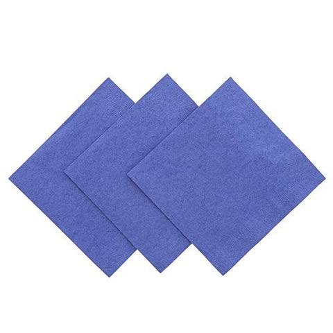 Royal Navy Blue Beverage Napkin, Package of 200