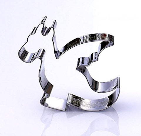 Dragon Cookie Cutter - Stainless Steel