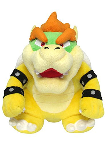 Sanei Super Mario All Star Collection 10 Bowser Plush, Small