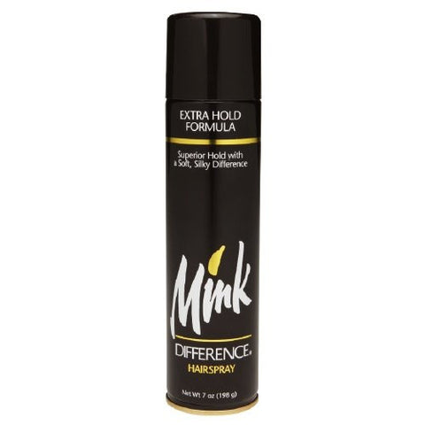 Mink Difference Hair Spray Extra Hold Formula 7 Oz