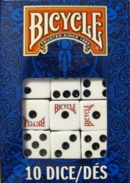 Bicycle Dice 10 Die Package