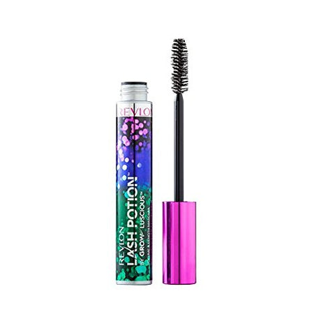 Revlon Lash Potion By Grow Luscious Waterproof Volume And Length Mascara, Blackened Brown, 0.34 Ounce