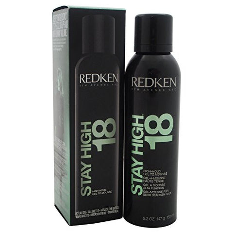 Redken Stay High 18 Hold Gel To Mousse for Unisex, 5.2 Ounce