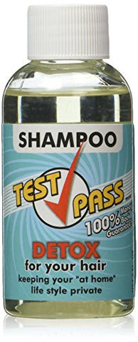 Test Pass Detox Shampoo - Single Use, NET 2 FL. OZ.