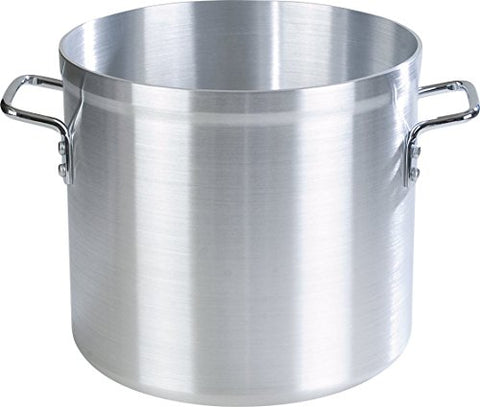Carlisle 61220 Aluminum 3003 Standard Weight Stock Pot, 20 quart Capacity