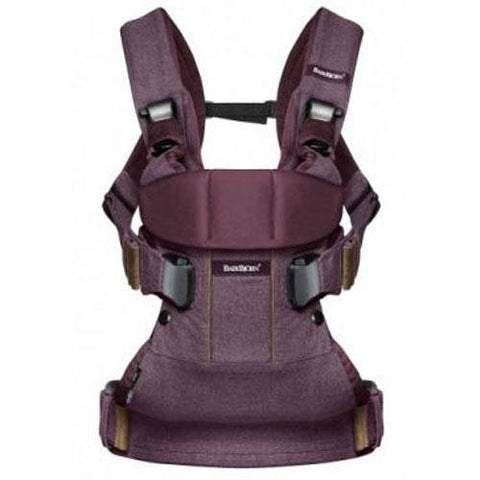 Baby Carrier One - Blackberry Red, Cotton (Limited Edition Color)
