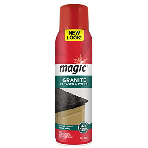 Magic Stone Clean and Polish Aerosol, 17 fl. oz.