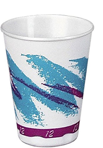 Solo Foodservice V12TX-00055 Hot/Cold Cup, 12 oz, Jazz