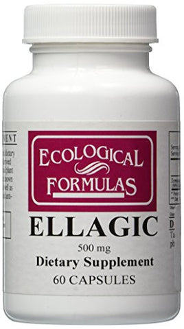 Ecological Formulas - Ellagic 500 mg 60 caps [Health and Beauty]