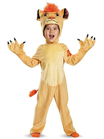 Disguise Kion Deluxe Toddler The Lion Guard Disney Costume, Large/4-6