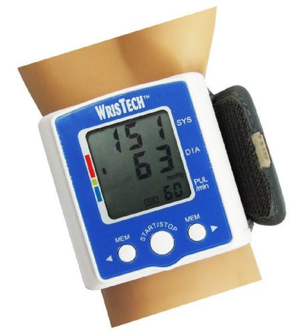 N American Healthcare Wristech Blood Pressure Monitor with Case