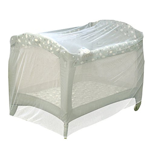 Jeep Baby Playpen Netting, Universal Size, White, Pack N Play Mosquito Net Tent, Play Yard Kid Insect Mesh Cover
