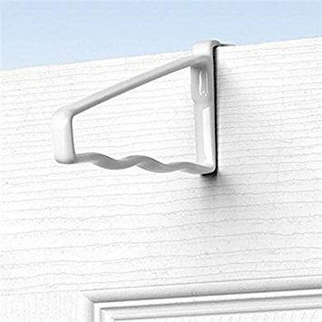 Spectrum Over The Door Metal Hanging Organizer, White - 2 Count