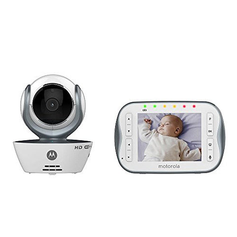 Motorola WiFi 3.5 Inch Video Baby Monitor - MBP843CONNECT (One Camera)