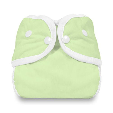 Thirsties Snap Diaper Cover, Celery, Medium