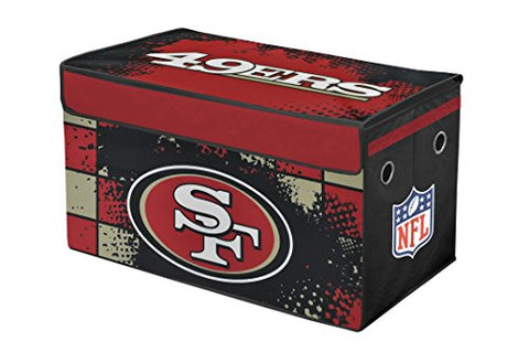 NFL San Francisco 49's Collapsible Storage Trunk