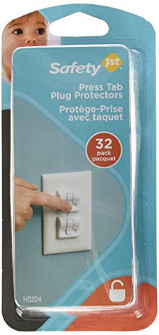 Safety 1st Press Tab Plug Protectors (32pk)