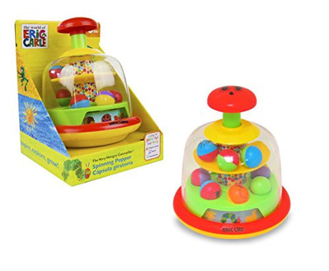 World of Eric Carle, The Very Hungry Caterpillar Push and Spin Popper Toy