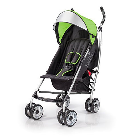 Summer Infant 3Dlite Convenience Stroller, Tropical Green