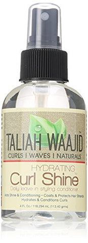 Taliah Waajid Curls, Waves and Naturals Hydrating Curl Shine, 4 Ounce