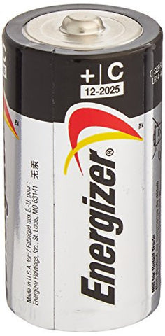 ENERGIZER E93 Max ALKALINE C BATTERY Made in USA Exp. 12-2024 or later - 24 Count