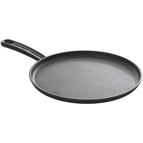 Emeril Lagasse 63078, pre-seasoned cast iron 11-inch round griddle , black