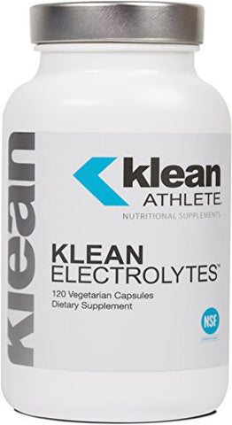 Klean Athlete - Klean Electrolytes - Replenishes Minerals for Hydration to Help Achieve Optimal Performance - NSF Certified for Sport - 120 Capsules