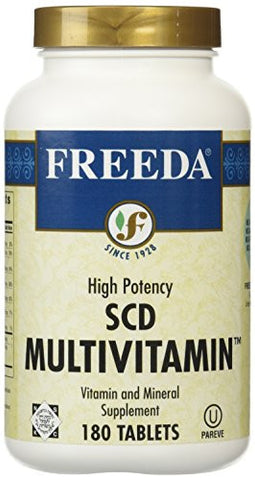 Freeda SCD Multivitamin - 180 Tablets