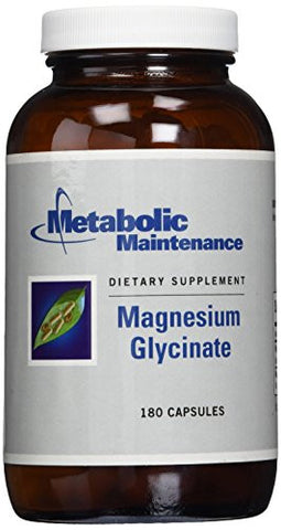 Metabolic Maintenance Magnesium Glycinate -- 180 Capsules
