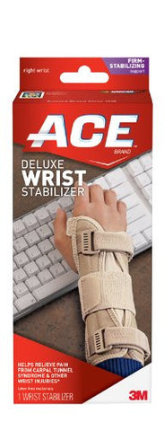 ACE Deluxe Wrist Stabilizer, Large/Extra-Large