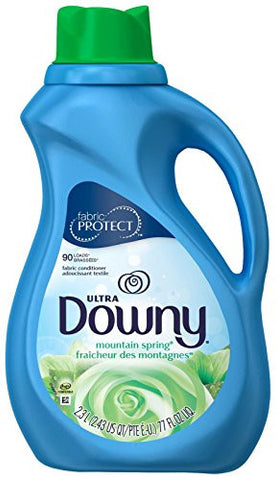 Downy Fabric Softener Liquid - 77 oz - Mountain Spring