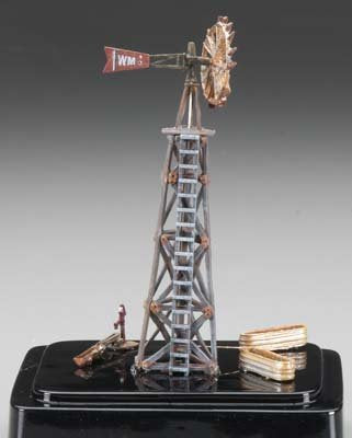 HO Built-N-Ready Old Windmill (Weathered) Woodland Scenics