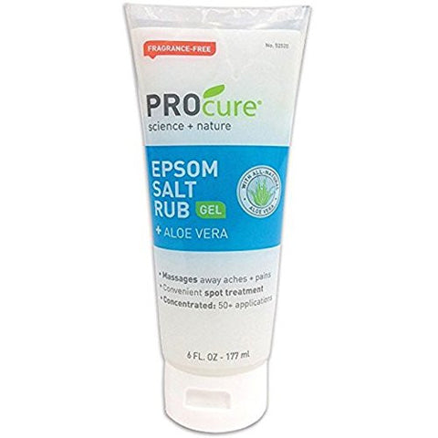 S - Epsom Salt Rub