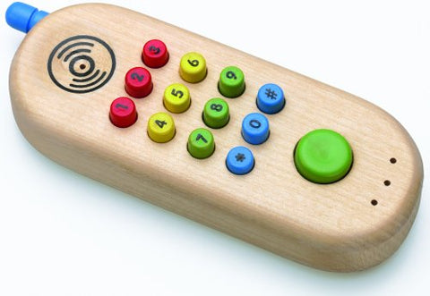 Wooden Cell Phone by Original Toy Company