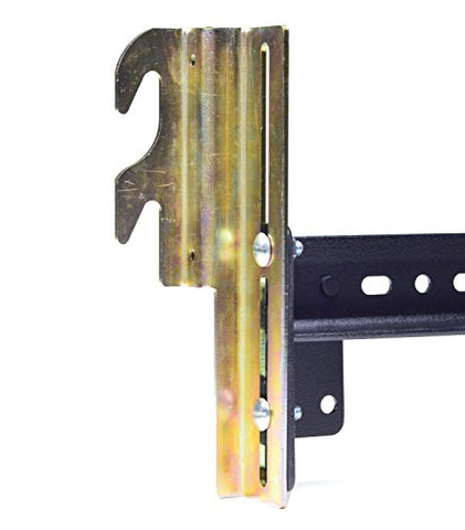 Hook On Bed Frame Brackets Adapter for Headboard Extra HEAVY DUTY, Set of 2 Brackets with Hardware, 711 Bracket