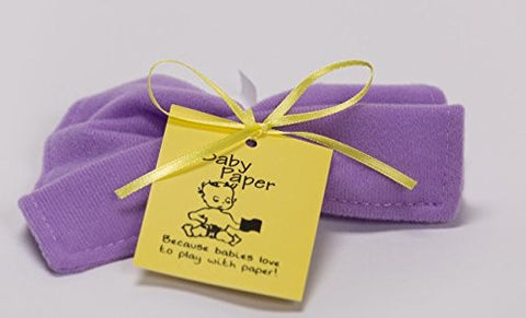 Baby Paper Crinkly Baby Toy (Lilac)
