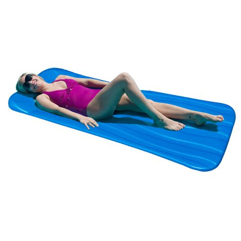 Deluxe 1.75-in Thick Cool Pool Float - Blue