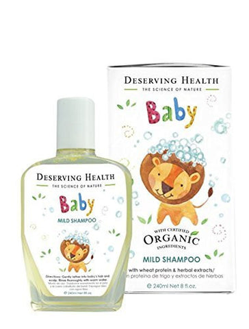 Deserving Health Baby Mild Shampoo (240ml)