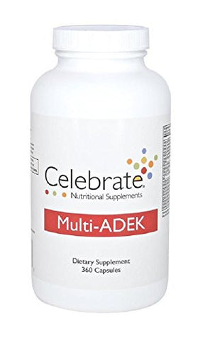 Celebrate Multi-ADEK Capsule 120 count bottle