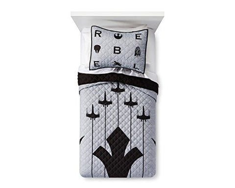 Star Wars Emblem Quilt Set (Twin)