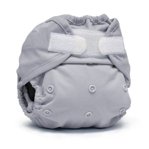 Rumparooz One Size Cloth Diaper Cover Aplix, Platinum