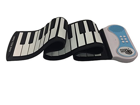 Rock And Roll It - Piano. Flexible, Completely Portable, 49 standard Keys, battery OR USB powered. 2016 ASTRA Best Toy for Kids Award Winner!
