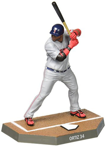 Imports Dragon Baseball Figures David Ortiz Boston Red Sox Baseball Figure, 6