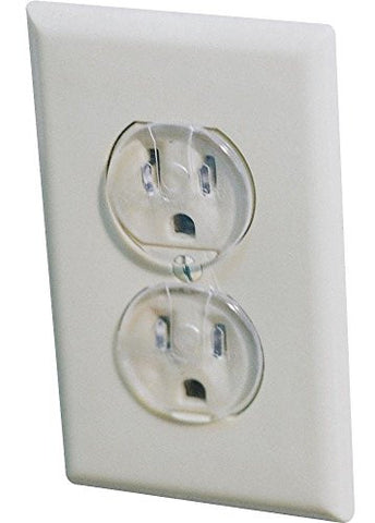 Dorel Junenille/ Safety 1st #1711 12PK Clear Outlet Cap