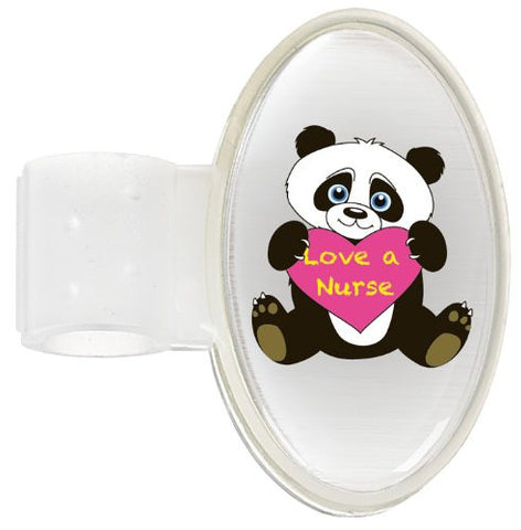 Prestige Medical Printed Stethoscope Id Tag, Panda Love a Nurse