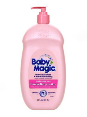 Baby Magic Gentle Baby Lotion, Original Baby Scent, 30 Oz