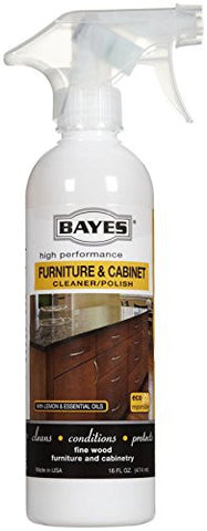 Bayes Furniture & Cabinet Cleaner & Polish - 16 oz