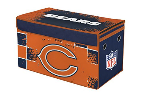 NFL Chicago Bears Collapsible Storage Trunk