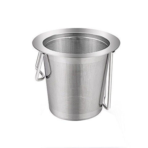 Tea Infuser, MaxMall Premium Long Handle Stainless Tea Filter Reusable Strainer for Loose Leaf Tea, Tea Cups, Mugs, and Teapots