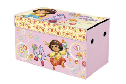 Nickelodeon Dora the Explorer Collapsible Storage Trunk